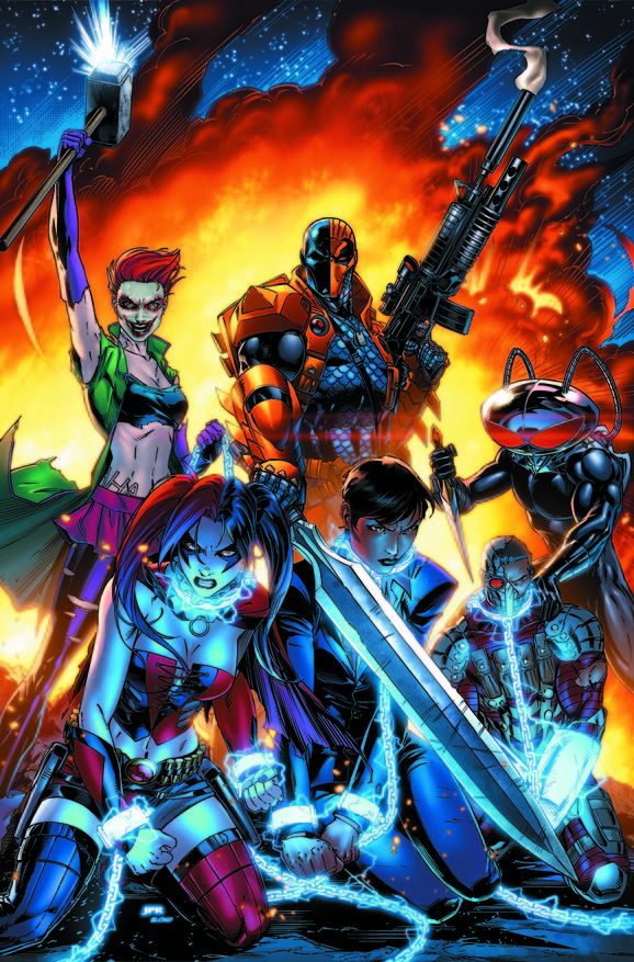 New Suicide Squad Cover